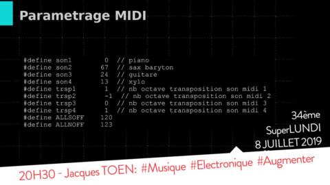 SPL34 : 20H30 – Jacques Toen – #Musique #Electronique #Flute #Augmenté